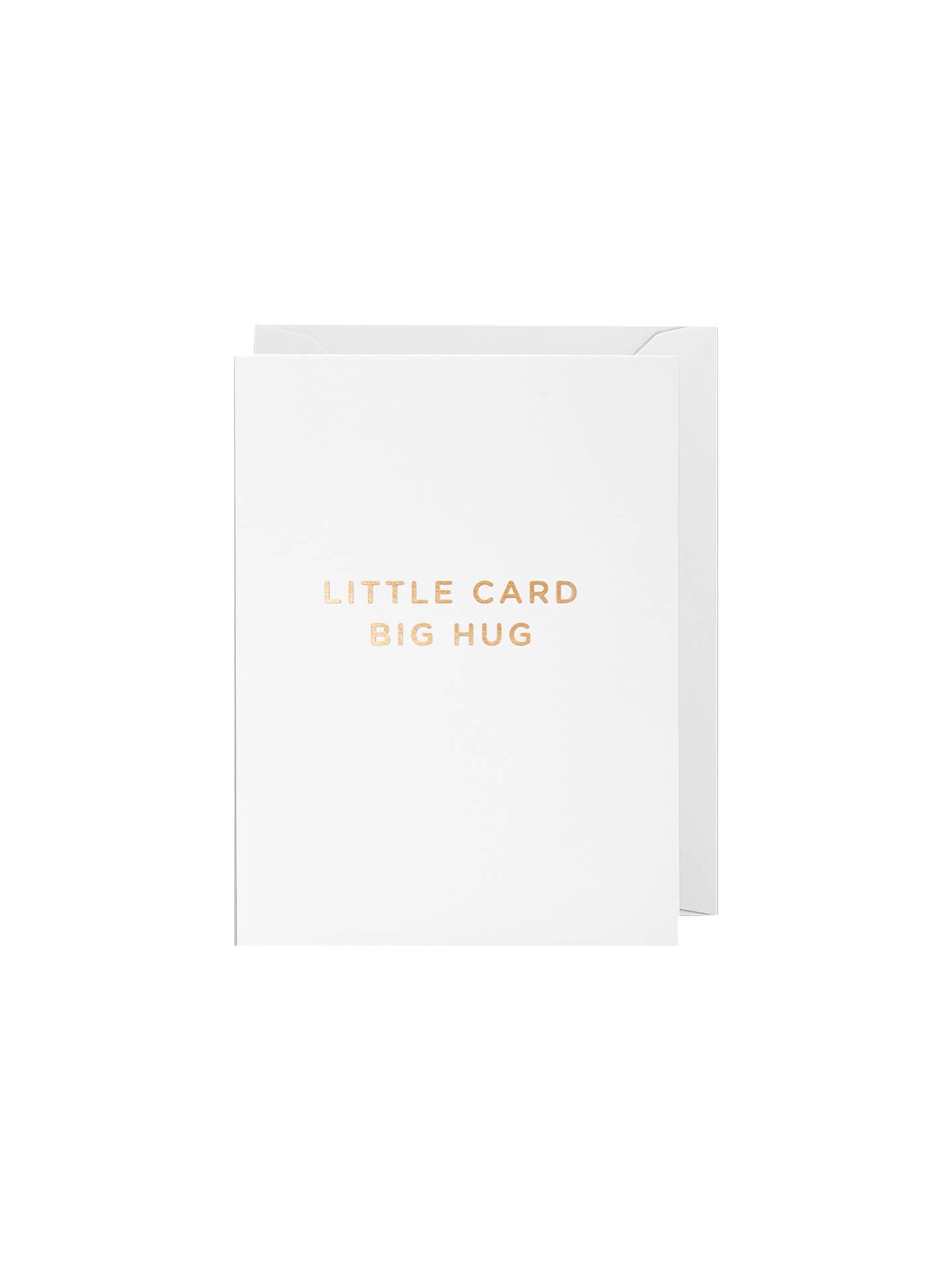 buylagom designs little card big hug note cards online at johnlewiscom - Note Cards Online