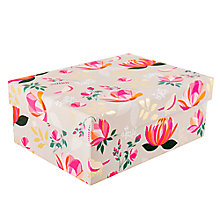 Buy Sara Miller Floral Gift Box, Medium Online at johnlewis.com