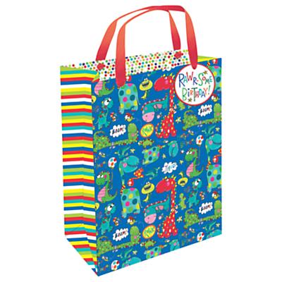 Rachel Ellen Dinosaur Gift Bag, Medium