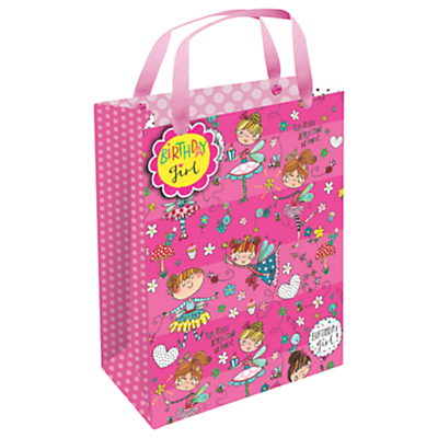Rachel Ellen Birthday Girl Gift Bag, Medium