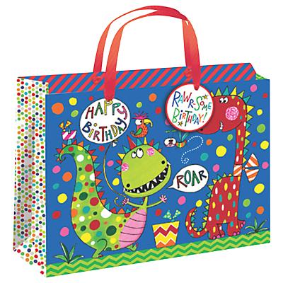Rachel Ellen Dinosaur Gift Bag