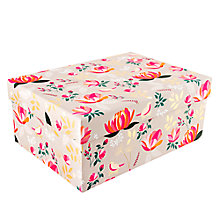 Buy Sara Miller Floral Gift Box, Large Online at johnlewis.com