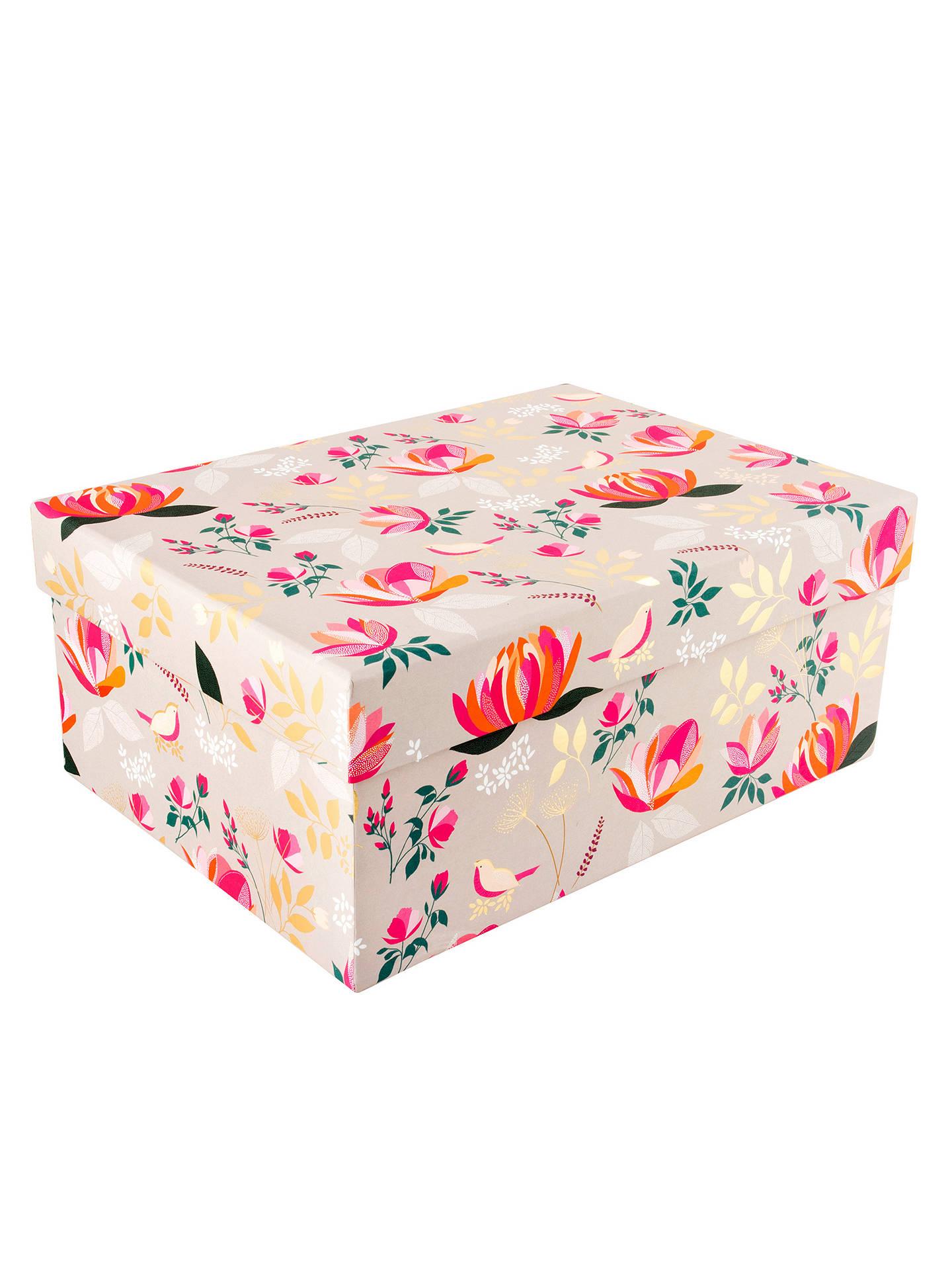 Sara Miller Floral Gift Box Large At John Lewis Partners