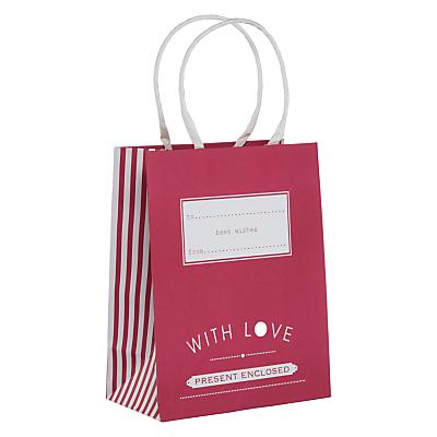 John Lewis Candy Stripe Gift Bag