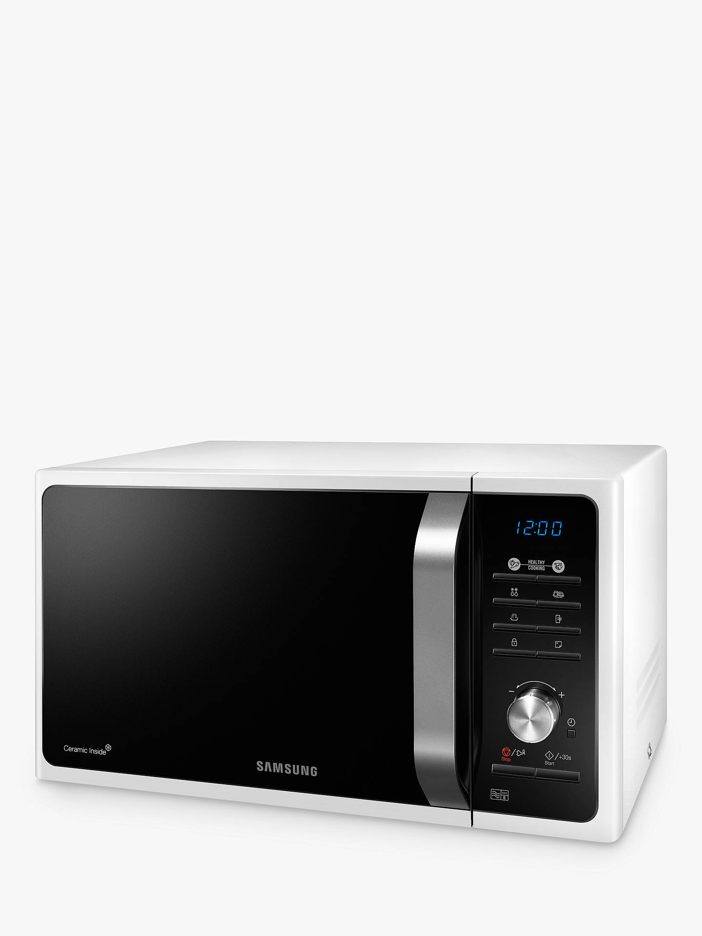 Ms23f301taw Solo Microwave Oven White