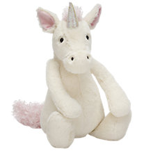 Buy Jellycat Bashful Unicorn Soft Toy, Medium Online at johnlewis.com