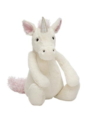 Jellycat Bashful Unicorn Soft Toy, Medium