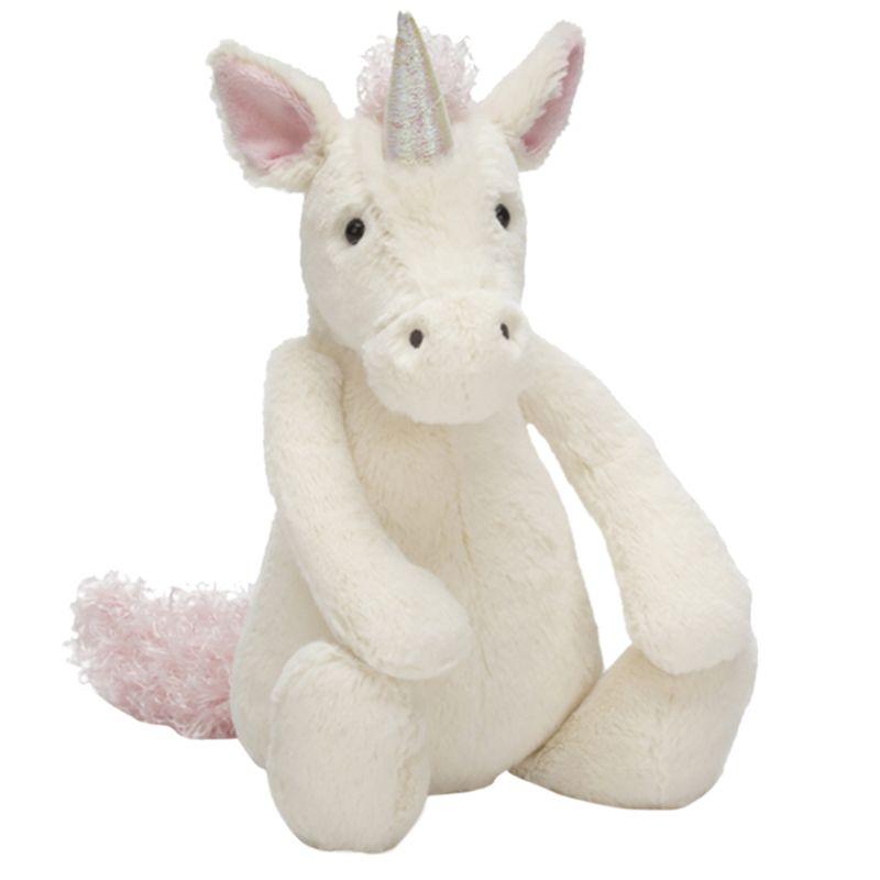 Jellycat Jellycat Bashful Unicorn Soft Toy, Medium