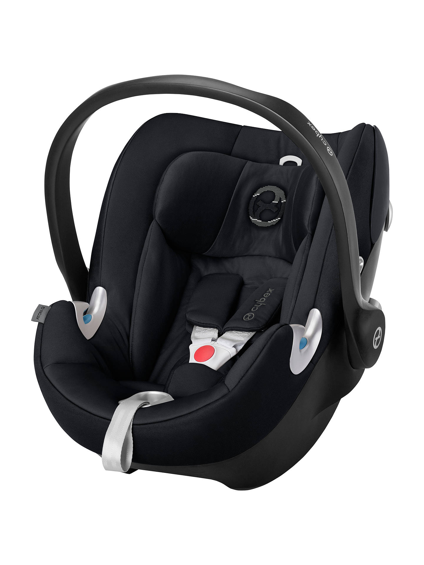 Buy Cybex Aton Q Group 0+ Baby Car Seat, Stardust Black Online at johnlewis.com