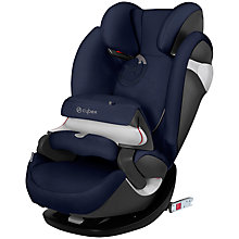 Buy Cybex Pallas M-Fix Group 1 2 3 Car Seat, Midnight Blue Online at johnlewis.com