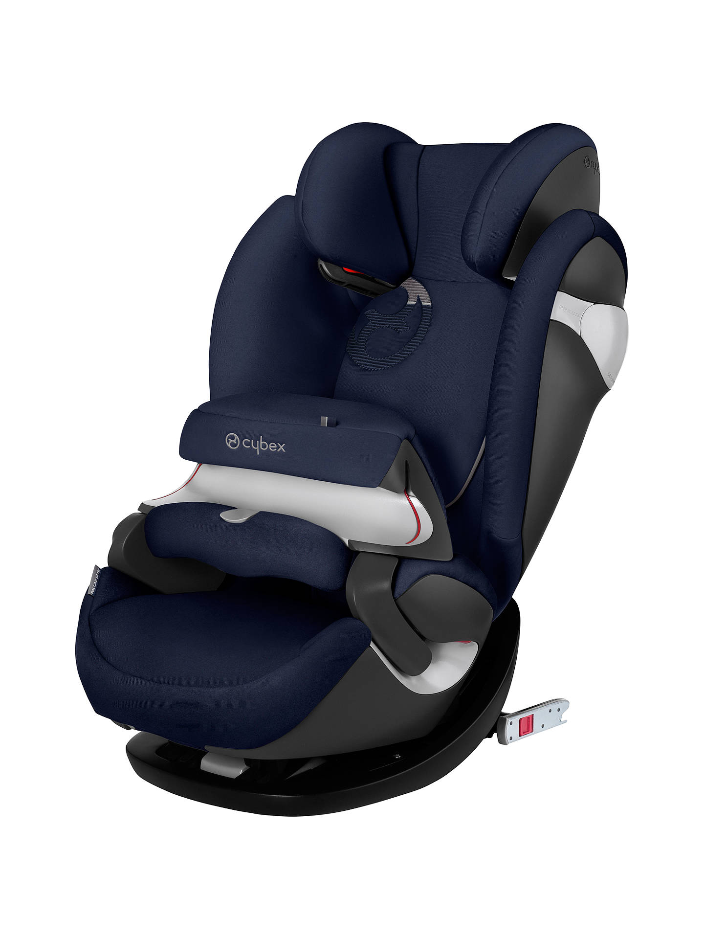 cybex pallas m fix group 1 2 3 car seat midnight blue at john lewis partners. Black Bedroom Furniture Sets. Home Design Ideas