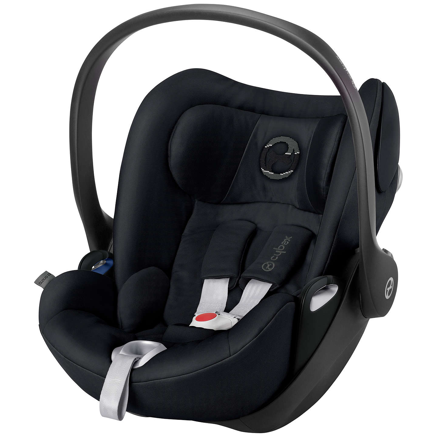 Cybex Cloud Q Group 0+ Baby Car Seat, Stardust Black at John Lewis