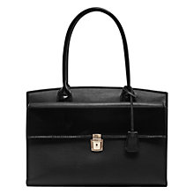 Buy French Connection Clean Capri Tote Bag, Black Online at johnlewis.com