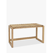 Buy Design Project by John Lewis No.015 Shoe Bench Online at johnlewis.com