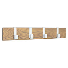 Buy Design Project by John Lewis No.015 Hanging Rack with 4 Hooks Online at johnlewis.com