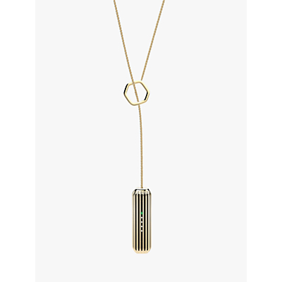 Fitbit Flex 2 Accessory Lariat Pendant, 22k Gold Plated