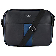 Buy Ted Baker Copper Dispatch Bag, Black Online at johnlewis.com