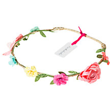 Buy Rockahula Girls' Rainbow Flower and Butterfly Hair Garland, Multi Online at johnlewis.com