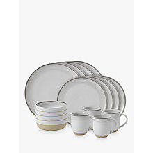 Buy ED Ellen DeGeneres for Royal Doulton Brushed Glaze Soft White Stoneware Set, 16 Piece Online at johnlewis.com