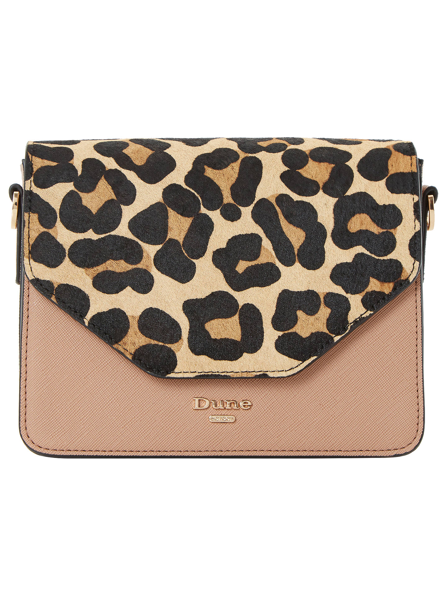 41c1ff2ff406 Buy Dune Etwo Clutch Bag, Leopard Online at johnlewis.com ...