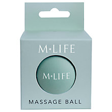 Buy Manuka Life Small Massage Ball, Blue Online at johnlewis.com