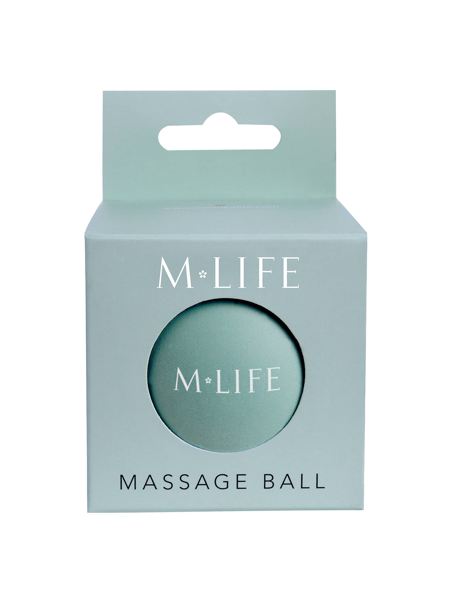 Buy M Life Small Massage Ball, Blue Online at johnlewis.com