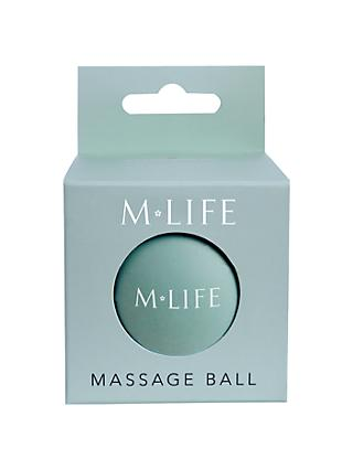M Life Small Massage Ball, Blue