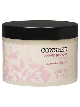 Cowshed Udderly Gorgeous Bath Salts, 250ml