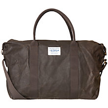 Buy Barbour Dry Wax Cotton Dromond Holdall Online at johnlewis.com