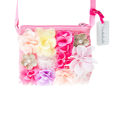 Rockahula Girls' Floral Bag, Pink
