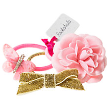 Buy Rockahula Children's Butterfly and Flower Hair Bobbles, Pack of 3 Online at johnlewis.com