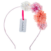 Buy Rockahula Children's Tallulah Flower Headband, Pink Online at johnlewis.com