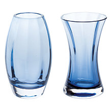 Buy Dartington Crystal 'Adam & Eve' Vases, Gift Pack, Set of 2 Online at johnlewis.com