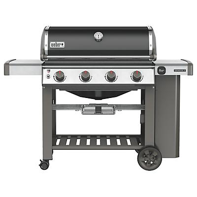 Weber Genesis II E-410 4 Burner Gas BBQ, Black