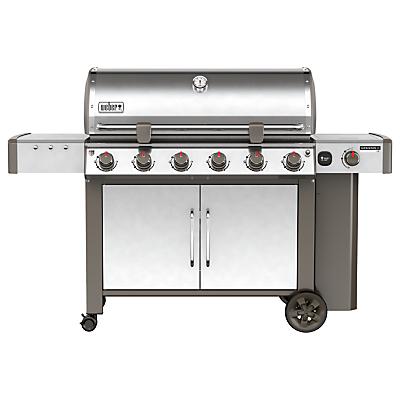 Image of Weber Genesis II LX S-640 6-Burner Gas BBQ, Silver