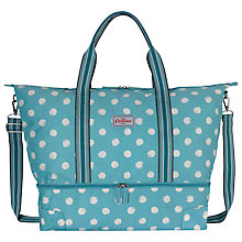 Buy Cath Kidston Smudge Spot Travel Bag, Teal Online at johnlewis.com