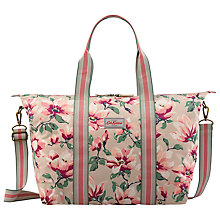 Buy Cath Kidston Magnolia Foldaway Weekend Bag, Stone Online at johnlewis.com