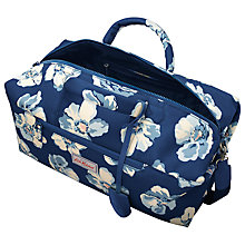 Buy Cath Kidston Scattered Anemone Holdall, Navy Online at johnlewis.com