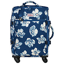 Buy Cath Kidston Scattered Anemone 55cm 4-Wheel Cabin Case, Navy Online at johnlewis.com