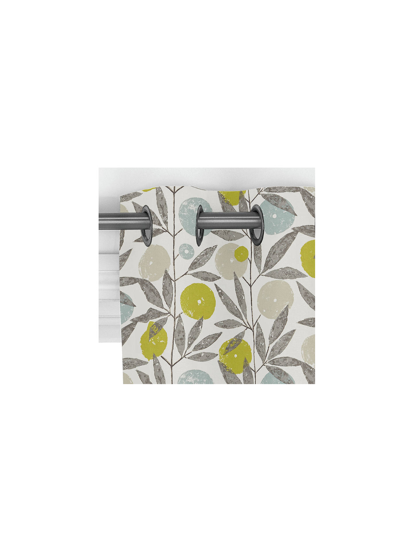BuyScion Blomma Curtain, Kiwi Online at johnlewis.com