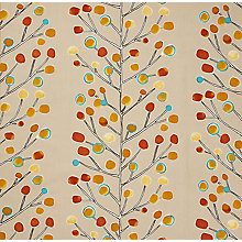 Buy Scion Berry Tree Furnishing Fabric, Natural Online at johnlewis.com
