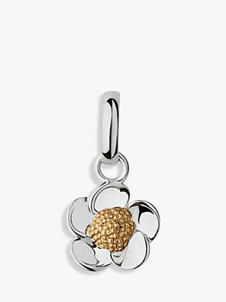Links of London 18ct Gold Vermeil Buttercup Charm, Silver/Gold