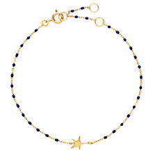 Buy Estella Bartlett Enamel Star Chain Bracelet Online at johnlewis.com
