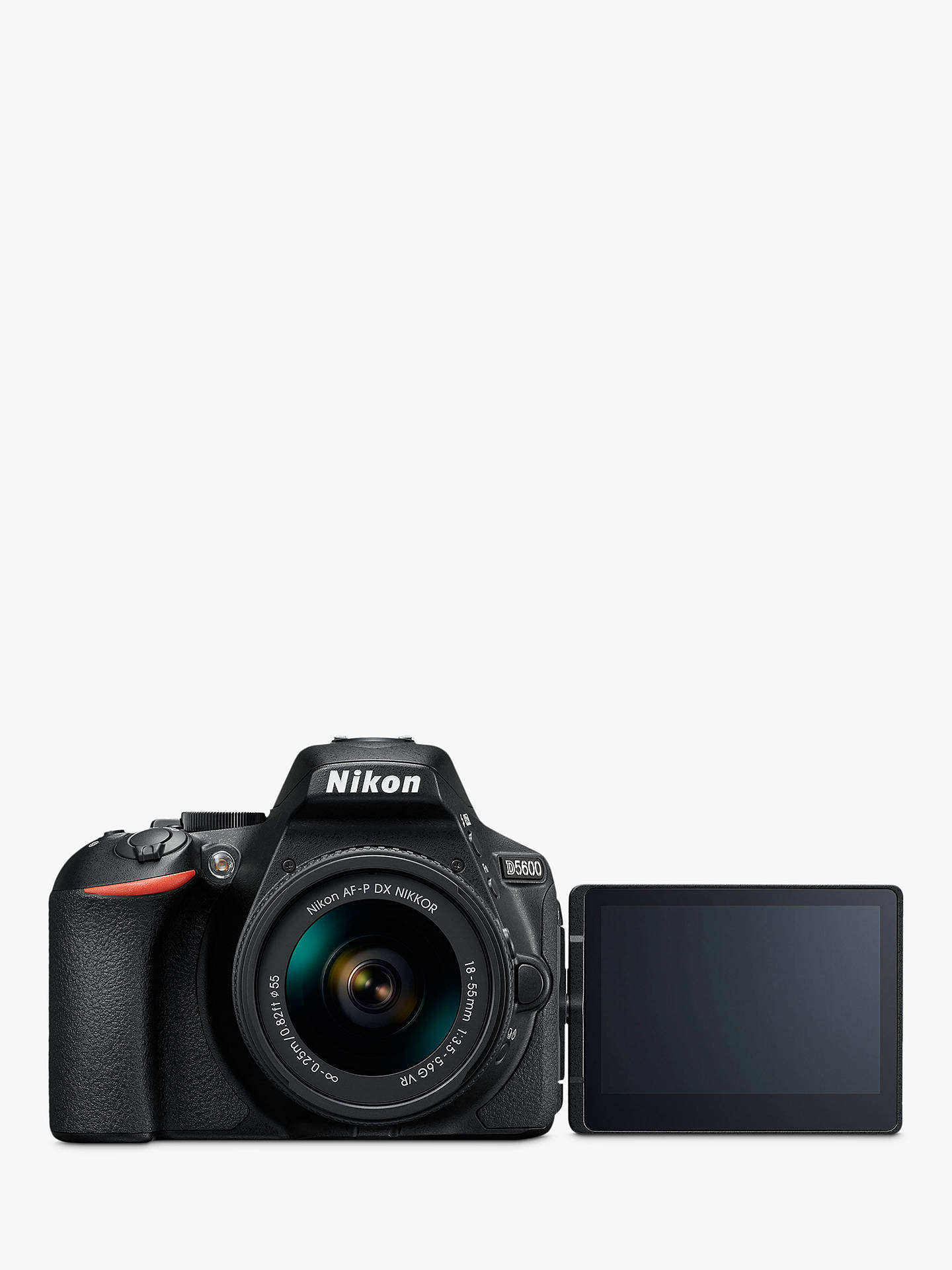 Nikon D5600 Digital SLR Camera with 18-55mm VR Lens, HD 1080p, 24 2MP,  Wi-Fi, Optical Viewfinder, 3 2