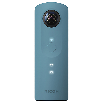 Ricoh THETA SC Action Camera, HD 1080p, 14MP, 360° Recording, Wi-Fi with Soft Case