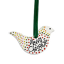 Buy Gallery Thea Personalised Bird Hanging Decoration Online at johnlewis.com