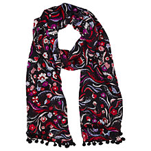 Buy L.K. Bennett Jasmine Print Silk Scarf, Multi Online at johnlewis.com