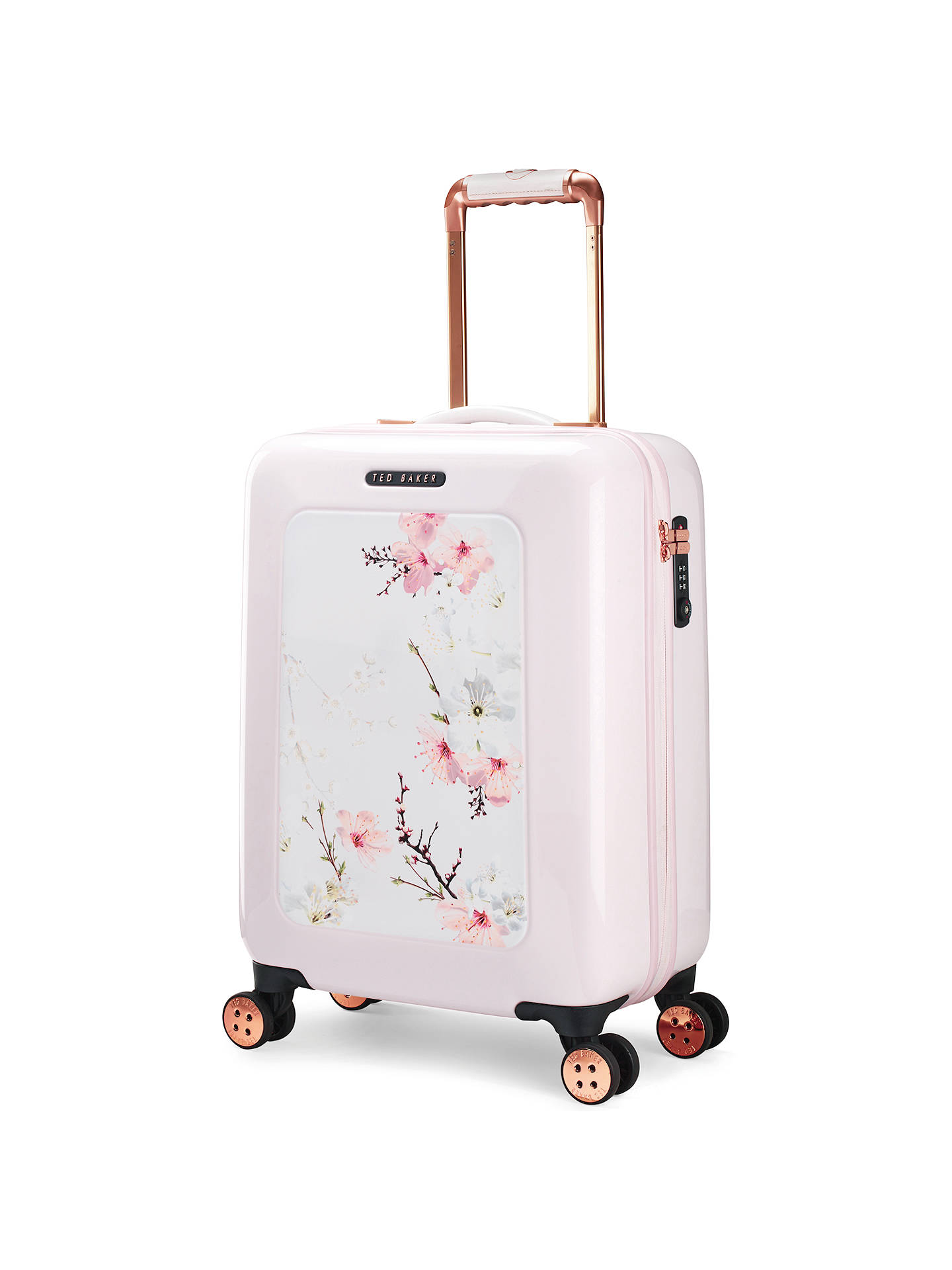 1ff2974747943 Buy Ted Baker Oriental Blossom 54cm 4-Wheel Cabin Case
