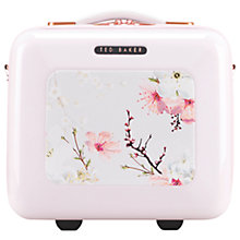 Buy Ted Baker Oriental Blossom Vanity Case, Pink Online at johnlewis.com
