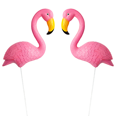 Sunnylife Garden Flamingos, Set of 2